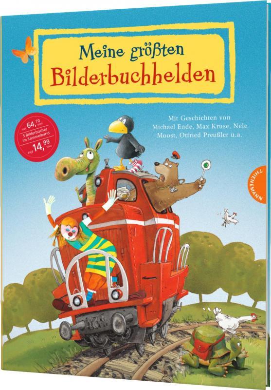 Cover-Bild Meine größten Bilderbuchhelden