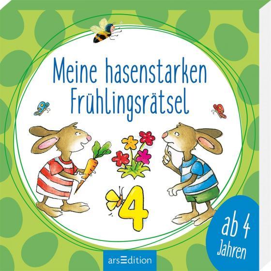Cover-Bild Meine hasenstarken Frühlingsrätsel