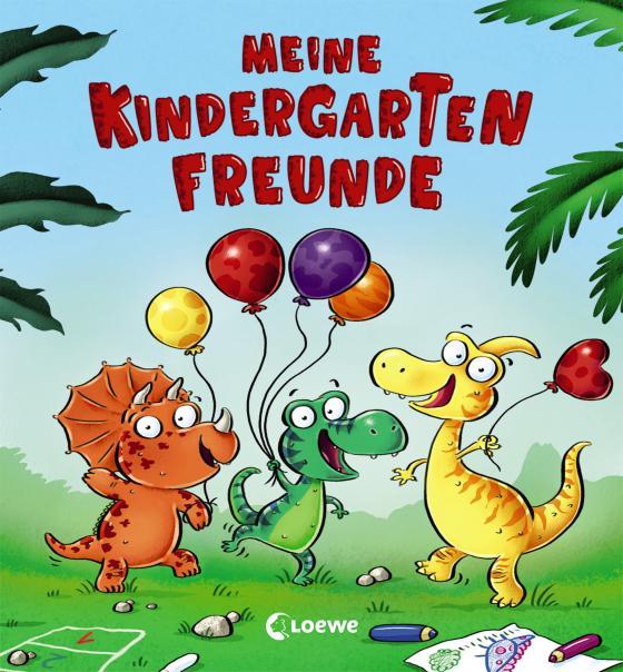 Cover-Bild Meine Kindergarten-Freunde (Dino)