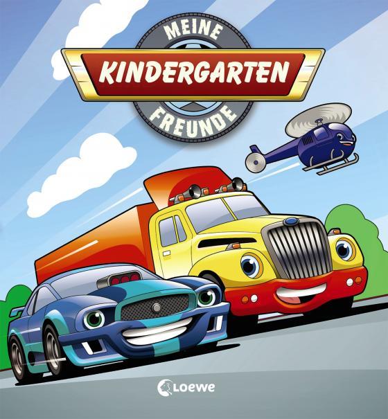 Cover-Bild Meine Kindergarten-Freunde (Fahrzeuge)