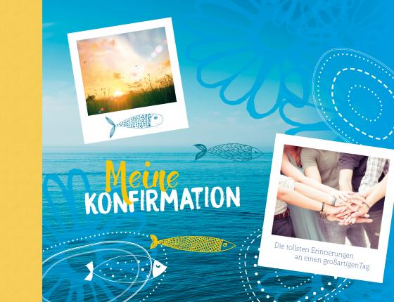 Cover-Bild Meine Konfirmation - Eintragealbum