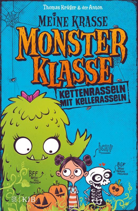 Cover-Bild Meine krasse Monsterklasse - Kettenrasseln mit Kellerasseln