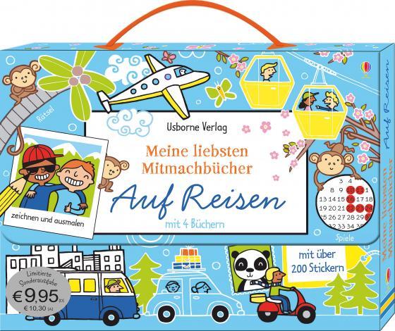 Cover-Bild Meine liebsten Mitmachbücher: Auf Reisen