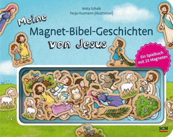 Cover-Bild Meine Magnet-Bibel-Geschichten von Jesus