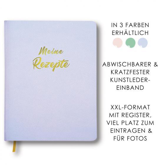 Cover-Bild Meine Rezepte himmelblau
