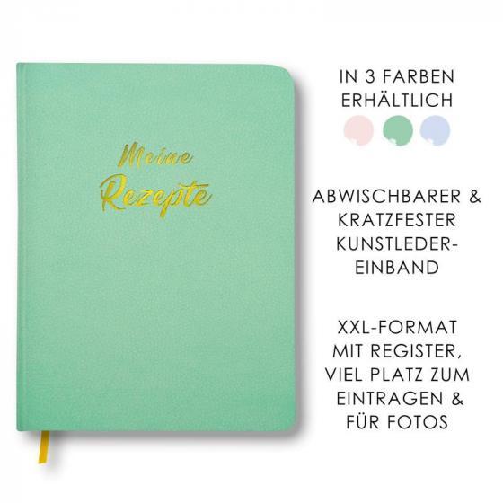 Cover-Bild Meine Rezepte mintgrün