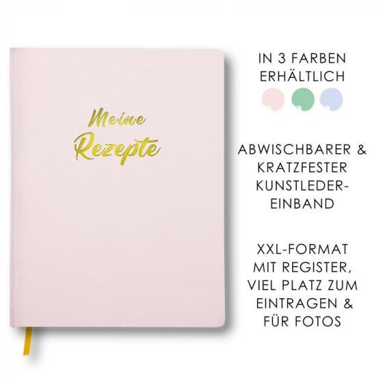 Cover-Bild Meine Rezepte rosa