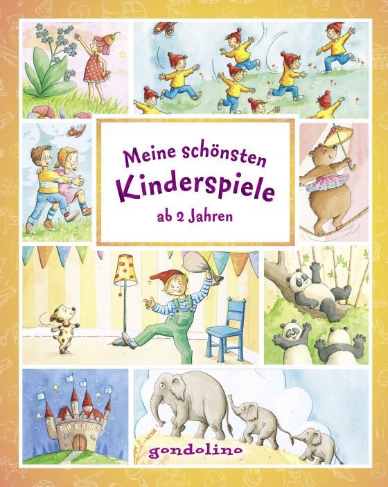 Cover-Bild Meine schönsten Kinderspiele ab 2 Jahre