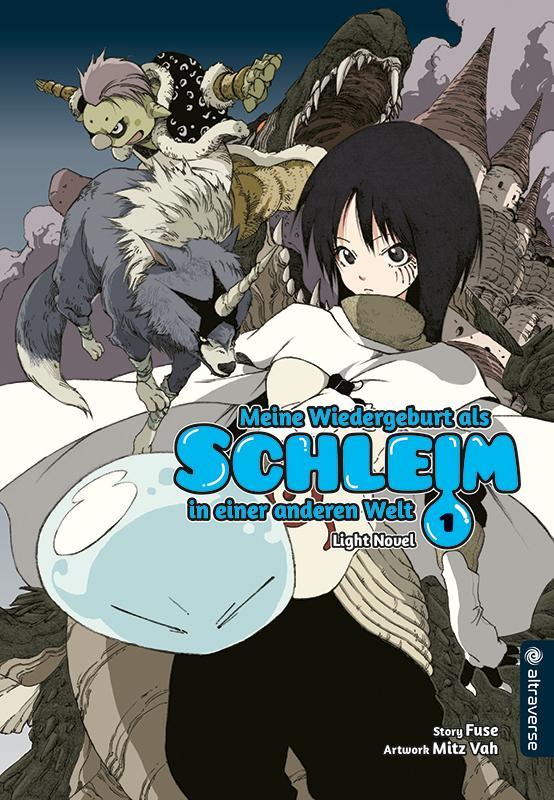 Cover-Bild Meine Wiedergeburt als Schleim in einer anderen Welt Light Novel 01