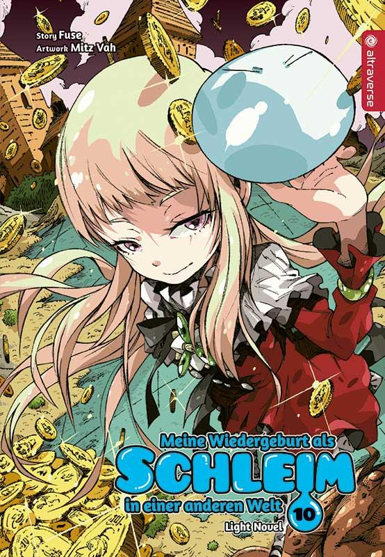 Cover-Bild Meine Wiedergeburt als Schleim in einer anderen Welt Light Novel 10