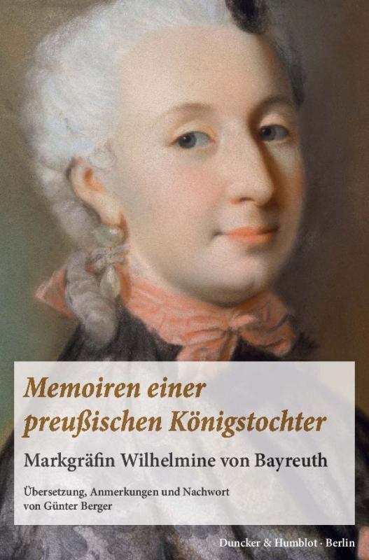 Cover-Bild Memoiren einer preußischen Königstochter.
