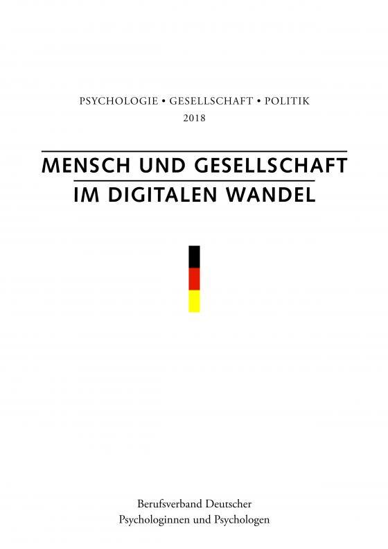 Cover-Bild Mensch und Gesellschaft im digitalen Wandel