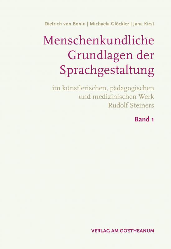 Cover-Bild Menschenkundische Grundlagen der Sprachgestaltung