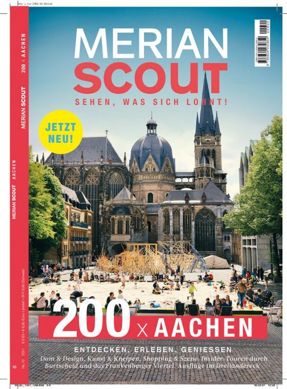Cover-Bild MERIAN Scout Aachen