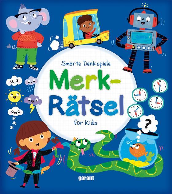 Cover-Bild Merkrätsel für Kids