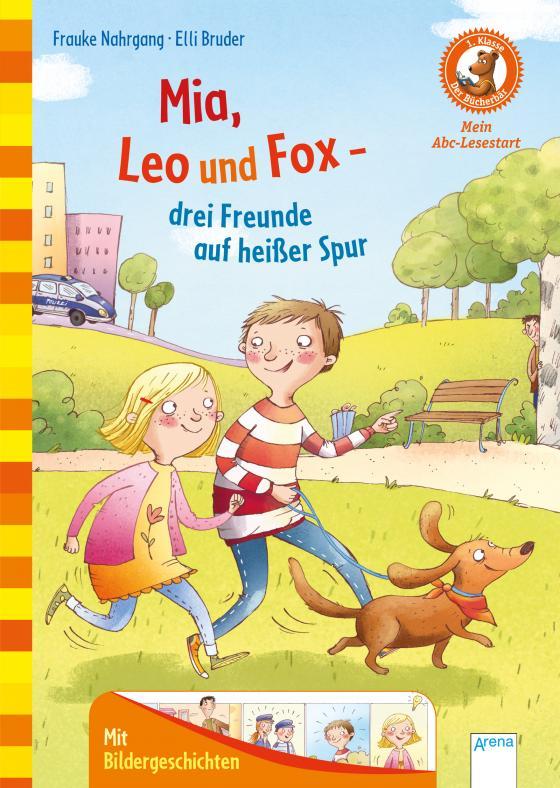 Cover-Bild Mia, Leo und Fox. Drei Freunde auf heißer Spur