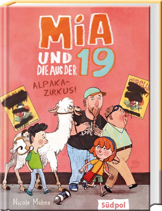 Cover-Bild Mia und die aus der 19 - Alpaka-Zirkus