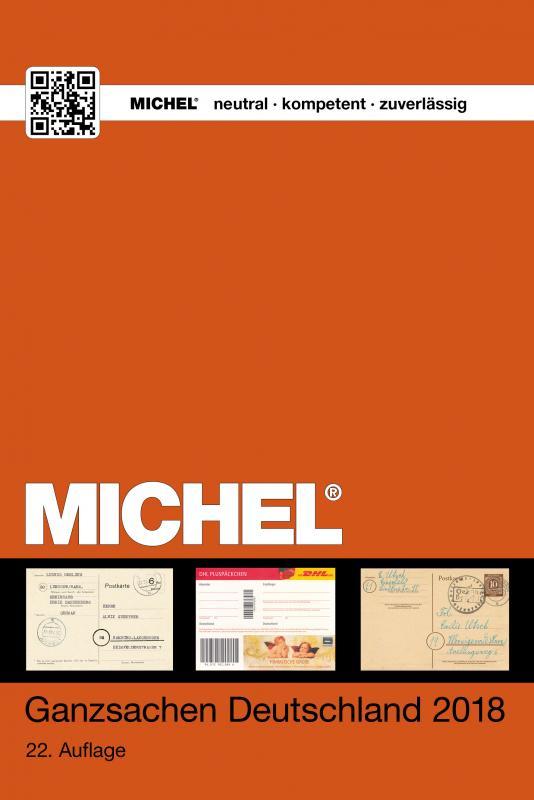 Cover-Bild MICHEL Ganzsachen Deutschland 2018