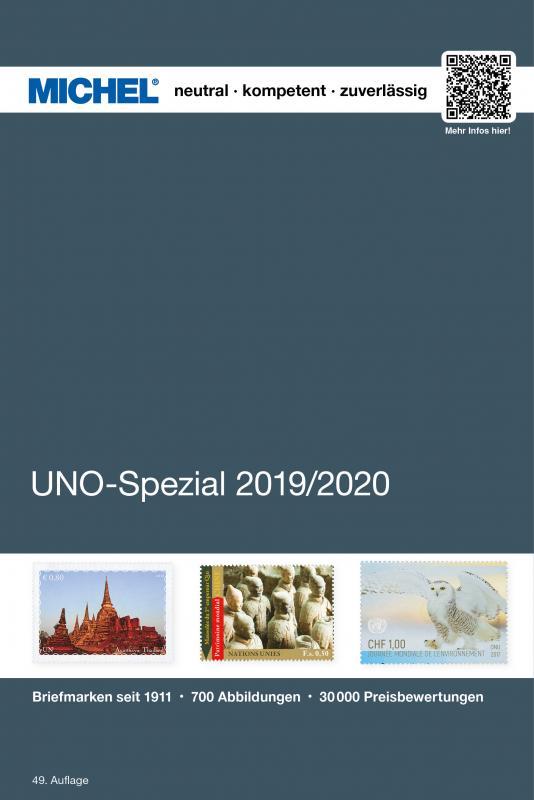 Cover-Bild MICHEL UNO-Spezial 2020