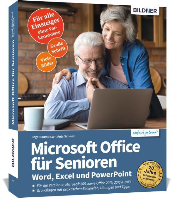 Cover-Bild Microsoft Office für Senioren - Word, Excel und PowerPoint