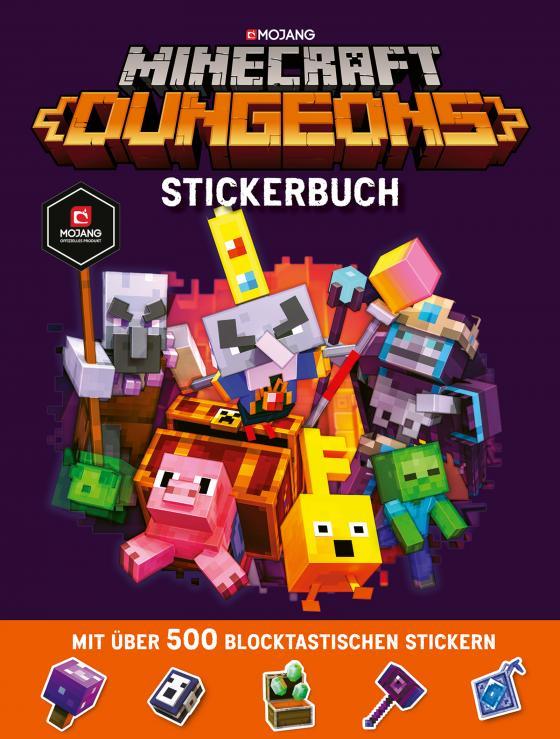 Cover-Bild Minecraft Dungeons Stickerbuch