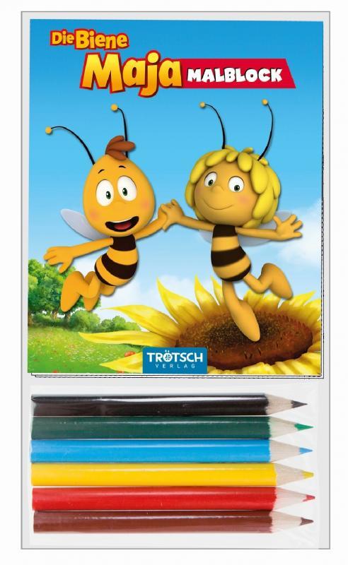 """Cover-Bild Mini-Malset """"Die Biene Maja"""""""