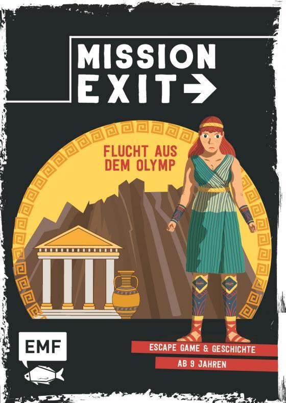Cover-Bild Mission: Exit – Flucht aus dem Olymp