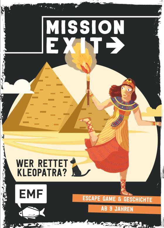 Cover-Bild Mission: Exit – Wer rettet Kleopatra?