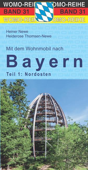 Cover-Bild Mit dem Wohnmobil nach Bayern