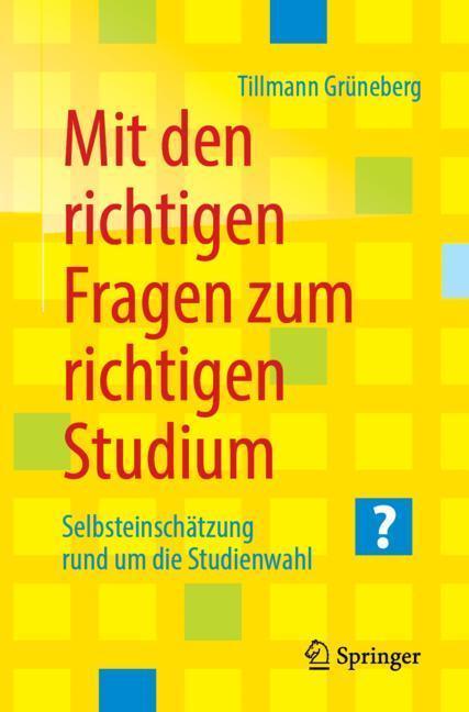 Cover-Bild Mit den richtigen Fragen zum richtigen Studium