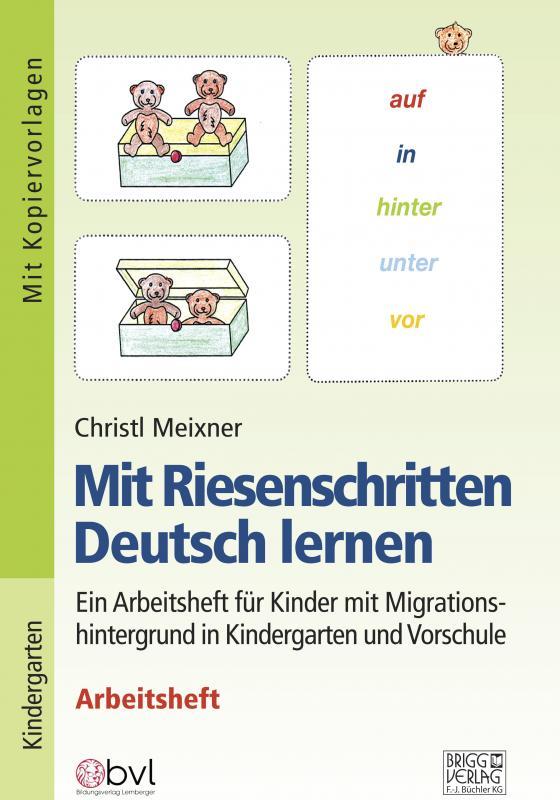 Cover-Bild Mit Riesenschritten Deutsch lernen - Arbeitsheft