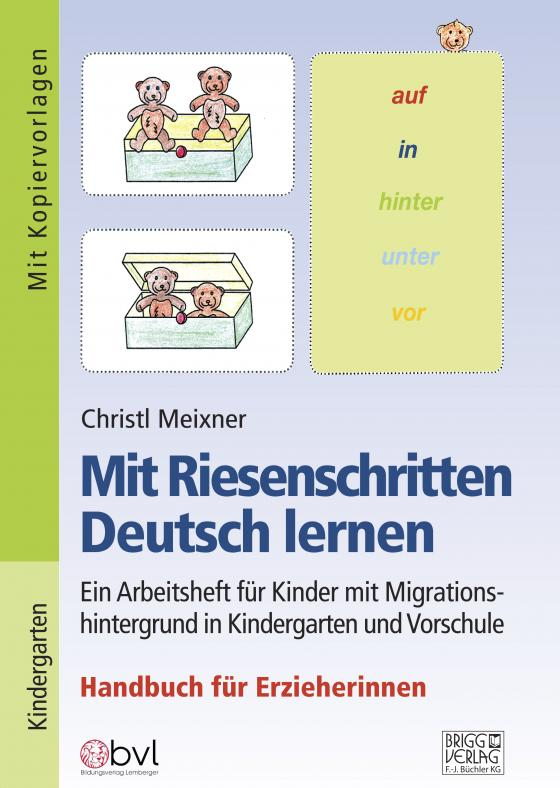 Cover-Bild Mit Riesenschritten Deutsch lernen - Handbuch