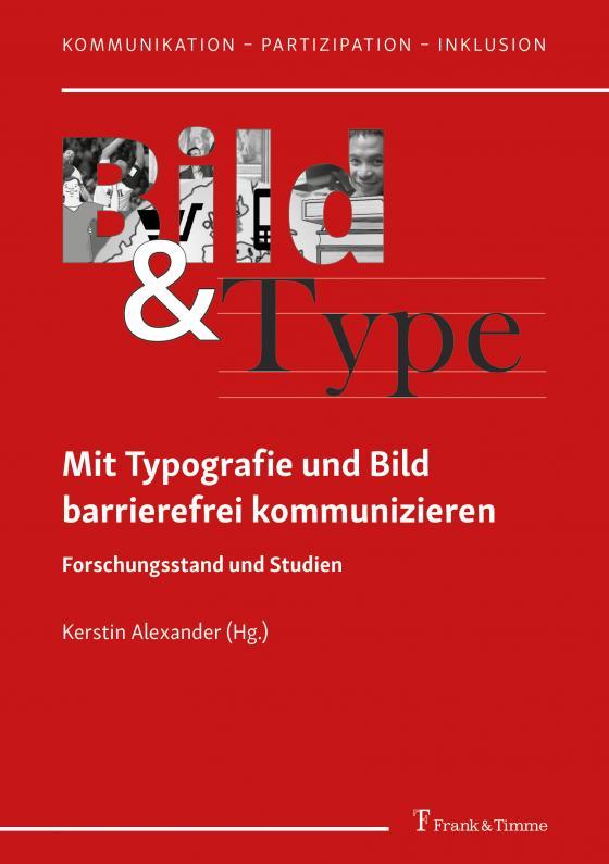 Cover-Bild Mit Typografie und Bild barrierefrei kommunizieren