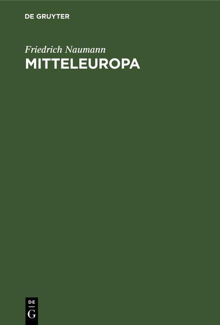 Cover-Bild Mitteleuropa