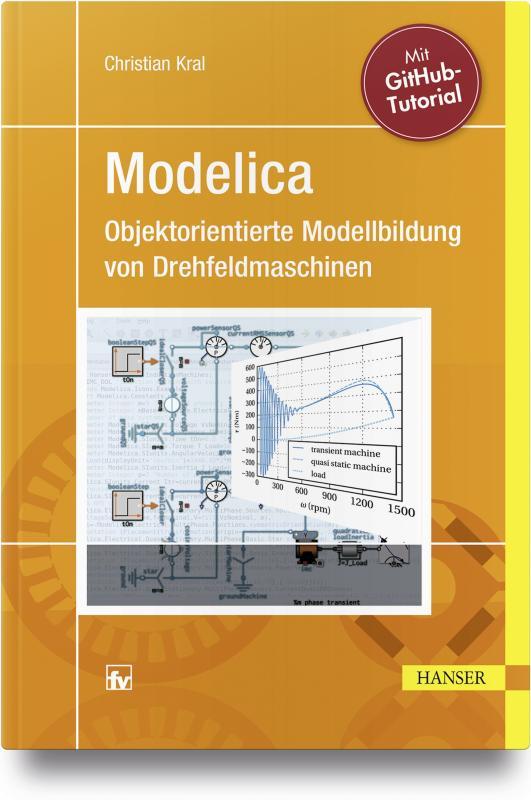 Cover-Bild Modelica - Objektorientierte Modellbildung von Drehfeldmaschinen