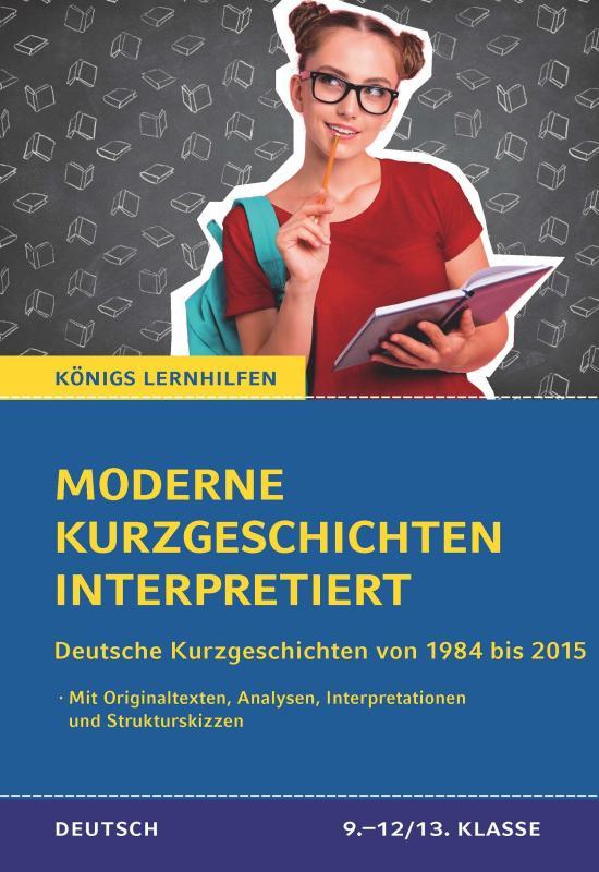 Cover-Bild Moderne Kurzgeschichten interpretiert