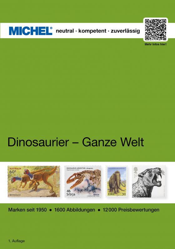 Cover-Bild Motiv Dinosaurier - Ganze Welt