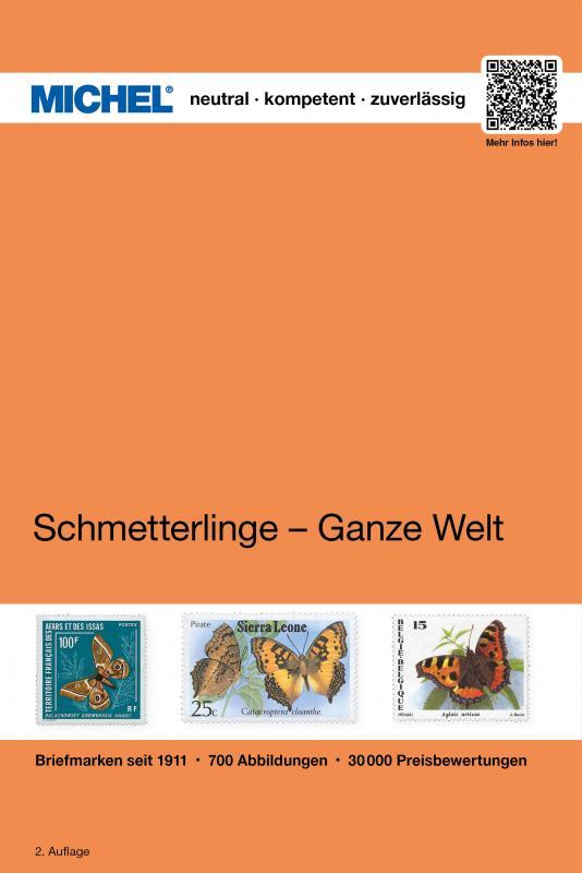 Cover-Bild Motiv Schmetterlinge - Ganze Welt
