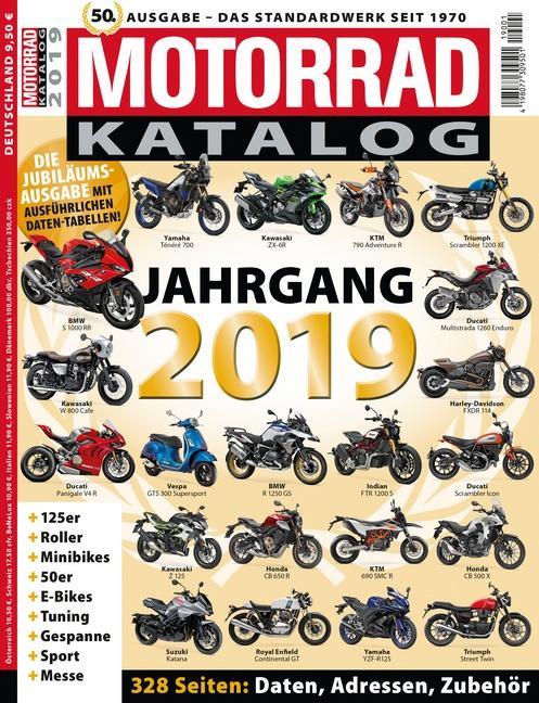 Cover-Bild Motorrad-Katalog 2019