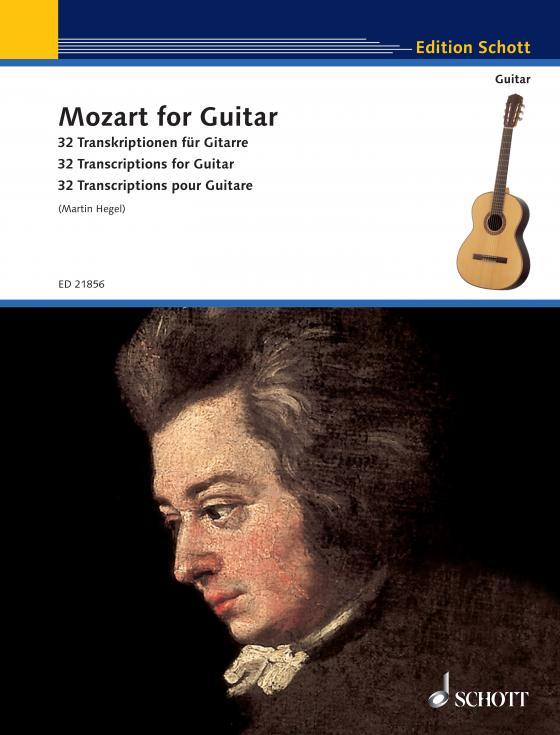 Cover-Bild Mozart for Guitar