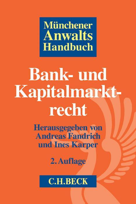Cover-Bild Münchener Anwaltshandbuch Bank- und Kapitalmarktrecht