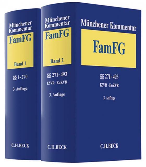 Cover-Bild Münchener Kommentar zum FamFG