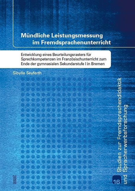 Cover-Bild Mündliche Leistungsmessung im Fremdsprachenunterricht