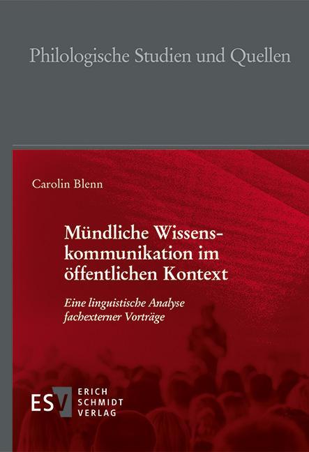 Cover-Bild Mündliche Wissenskommunikation im öffentlichen Kontext