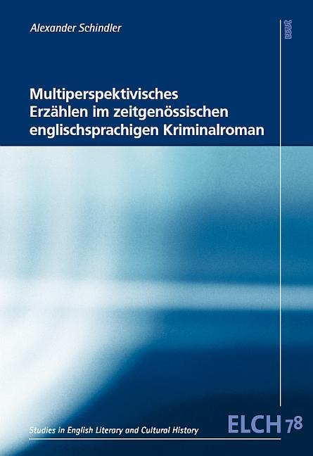 Cover-Bild Multiperspektivisches Erzählen im zeitgenössischen englischsprachigen Kriminalroman