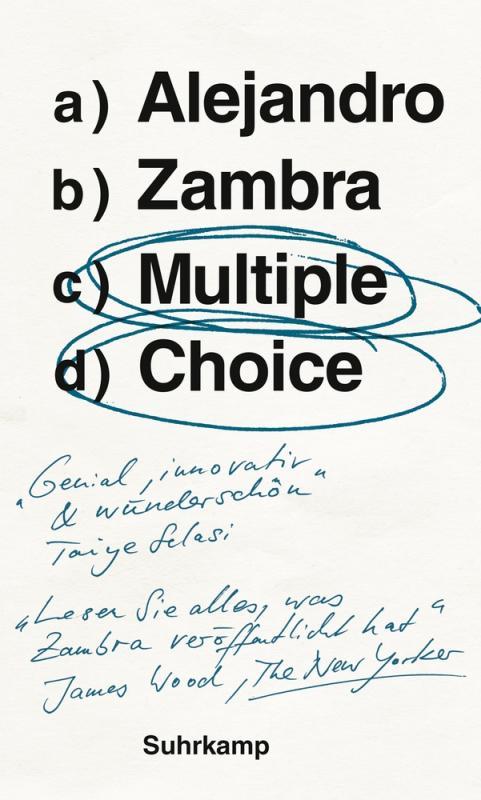 Cover-Bild Multiple Choice