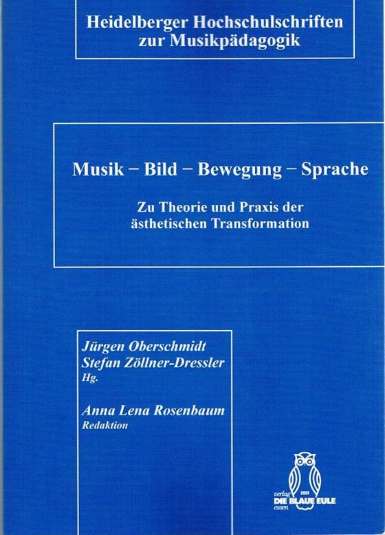 Cover-Bild Musik - Bild - Bewegung - Sprache