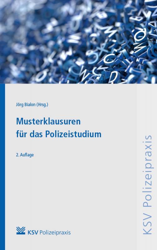 Cover-Bild Musterklausuren für das Polizeistudium