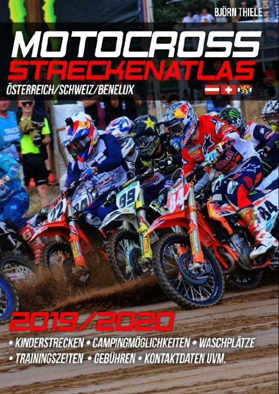 Cover-Bild MX Streckenatlas Österreich / Schweiz / Benelux 2019/2020