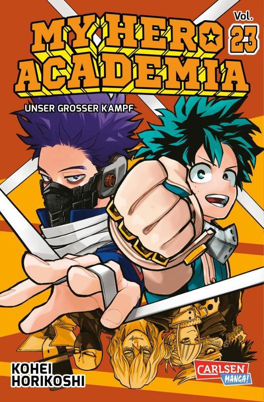 Cover-Bild My Hero Academia 23